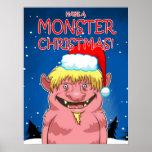 Have a Monster Christmas Print