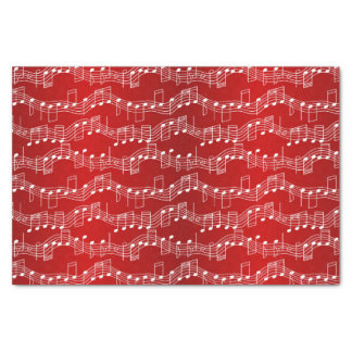 """Have A Musical Christmas 10"""" X 15"""" Tissue Paper"""