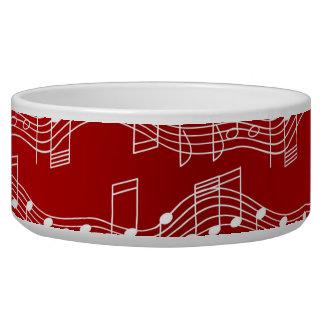 Have A Musical Christmas Dog Bowl