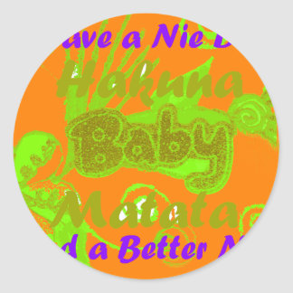 Have a Nicce Day & a Better Night.png Classic Round Sticker