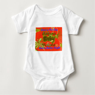 Have a Nicce Day Baby Kids Hakuna Matata.png Baby Bodysuit
