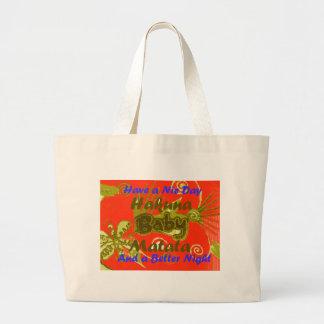 Have a Nicce Day Baby Kids Hakuna Matata.png Large Tote Bag