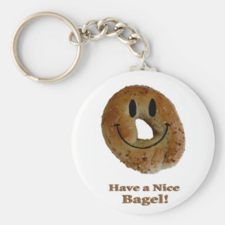 Have a Nice Bagel! Keychains