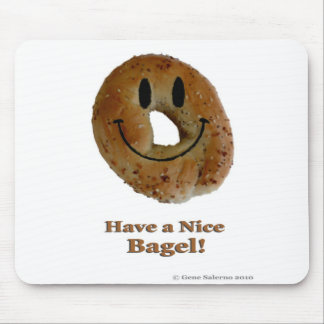 Have a Nice Bagel! Mouse Pad