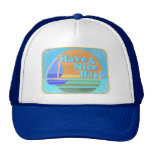 Have a nice bay! mesh hat