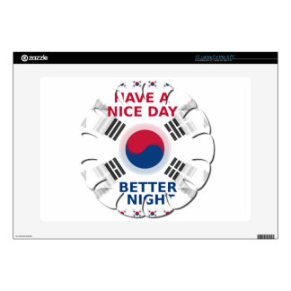 """Have a Nice Day & a Better Night 15"""" Laptop Decal"""