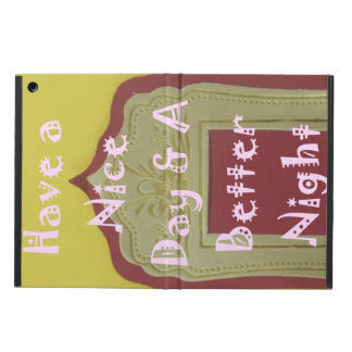Have a Nice Day & a Better Night Lovely iPad Case