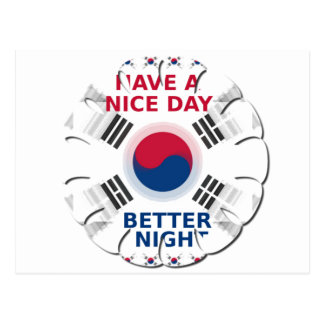 Have a Nice Day & a Better Night Postcard