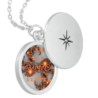 Have a Nice Day and a Better Night Locket Necklace