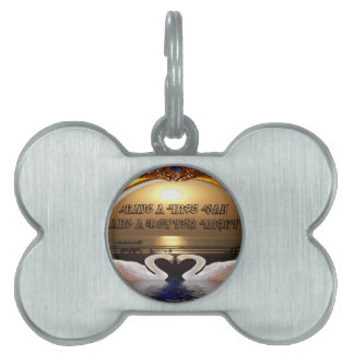 Have A Nice day and a Nice Night.silver Pet Tags