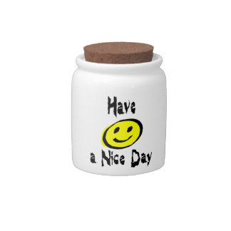 Have a Nice Day Candy Jar