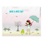 Have a Nice Day Cartoes Postais