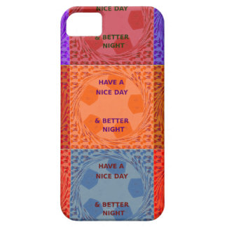Have a Nice Day colors iPhone SE/5/5s Case