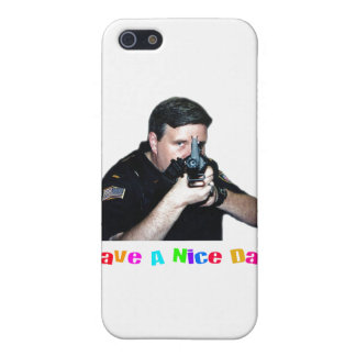 Have A Nice Day Cop iPhone 4 Case