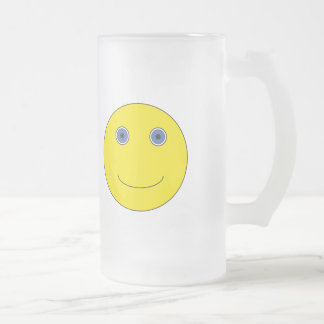 Have A nice day Frosted Glass Beer Mug
