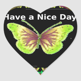 Have a Nice Day Hakuna Matata Text.png Heart Sticker
