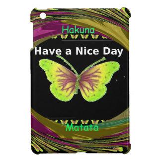 Have a Nice Day Hakuna Matata Text.png iPad Mini Case