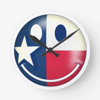 Have a Nice Day in Texas 03 Round Clock