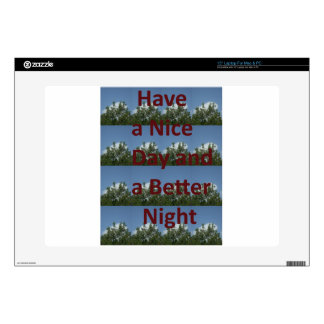 """Have a nice day.png 15"""" laptop decals"""