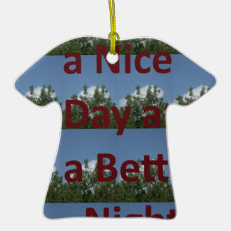 Have a nice day.png Double-Sided T-Shirt ceramic christmas ornament