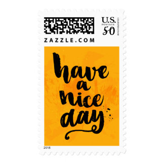 Have A Nice Day Postage