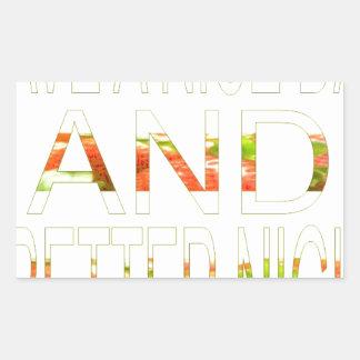 Have a Nice Day Rectangular Sticker