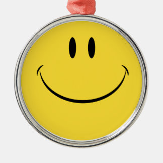 Have a nice day retro smiley face hanging ornament