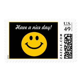 Have a nice day Smiley Stamp