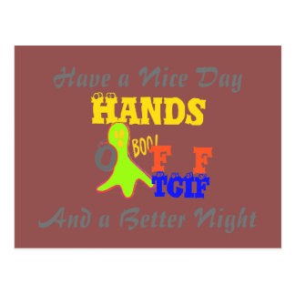 Have a Nice Day TGIF Thanks God Its Friday Hakuna Postcard