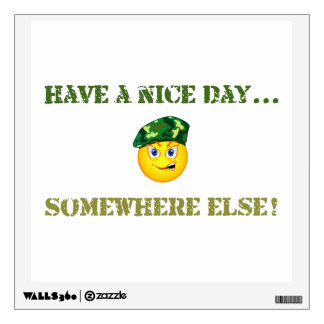 Have a Nice Day Wall Sticker