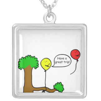 Have a Nice Trip Necklace