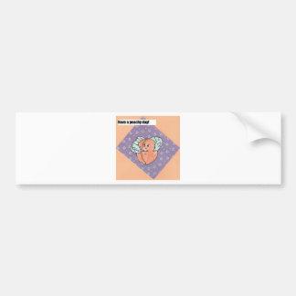 have a peachy day bumper sticker
