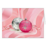 HAVE A PINK PINK CHRISTMAS by SHARON SHARPE Greeting Cards