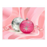 HAVE A PINK PINK CHRISTMAS by SHARON SHARPE Post Cards