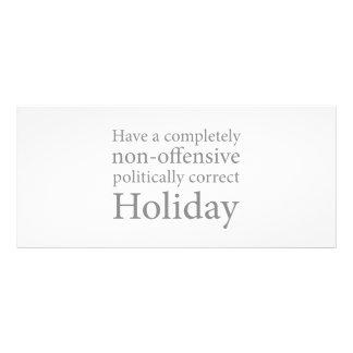 Have a Politically Correct Holiday Rack Card