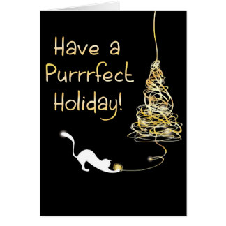 Have a Purrrfect Holiday Card