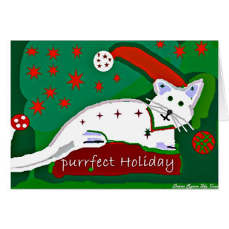 Have a Purrrrfect Holiday Card