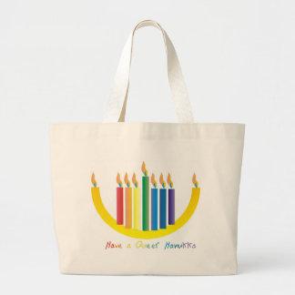 Have a Queer Chanukah Canvas Bag