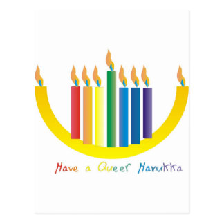 Have a Queer Chanukah Postcard