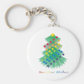 Have a Queer Christmas Keychain