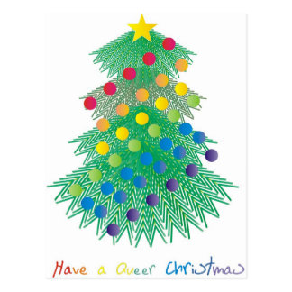 Have a Queer Christmas Postcard