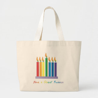 Have a Queer Kwanza Canvas Bags