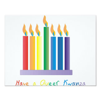 Have a Queer Kwanza Personalized Invitation