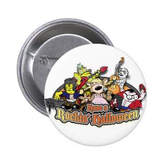 Have a Rockin' Halloween Buttons