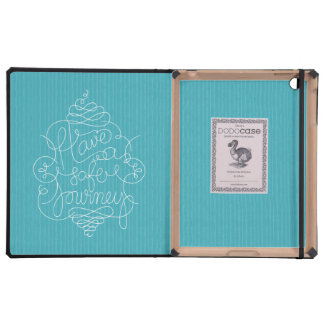 Have a Safe Journey iPad Folio Cases