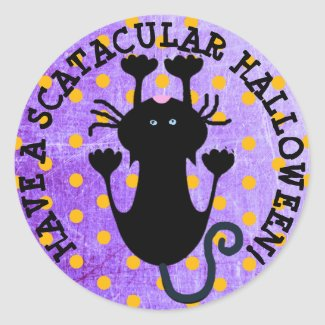 Have a Scatacular Halloween Button