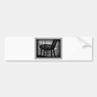 Have a seat bumper sticker