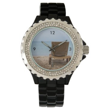 Beach Themed Have A Seat Wrist Watch