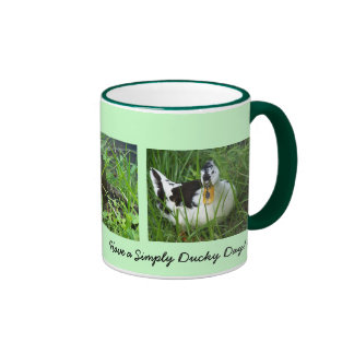 Have a Simply Ducky Day... Ringer Coffee Mug