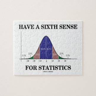 Have A Sixth Sense For Statistics Bell Curve Puzzle